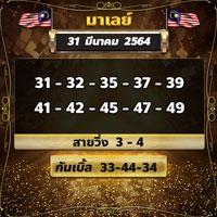 เลขเด็ดหวยมาเลย์310364